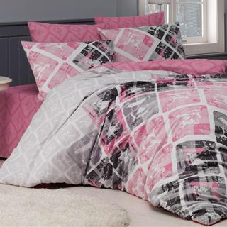 Bavlněné ložní povlečení Riviéra růžové