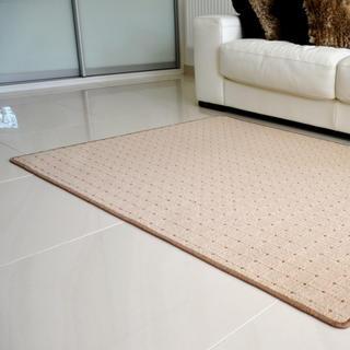 Kusový koberec UDINESE béžový, 60 x 110 cm