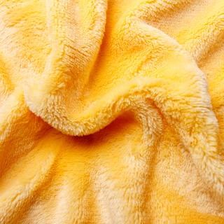 Napínací prostěradlo mikroplyš žluté jednolůžko - 90 x 200 cm