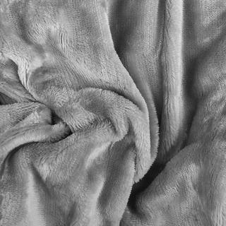 Napínací prostěradlo SLEEPWELL mikroplyš šedé