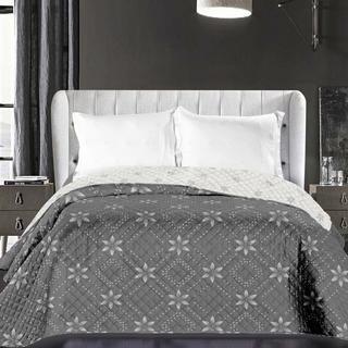 Přehoz na postel Elizabeth šedý