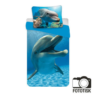 Dětské ložní povlečení Delfín