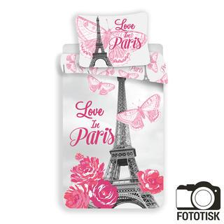Bavlněné ložní povlečení Paris květiny
