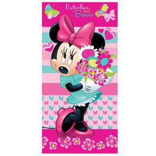 Dětská osuška Minnie flower