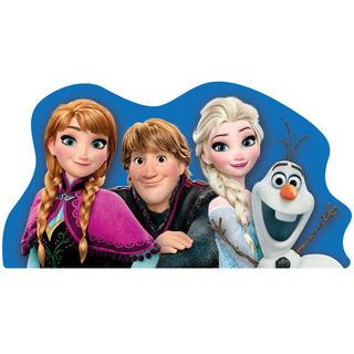 Dětský polštářek Frozen tvarovaný 32 x 32 cm