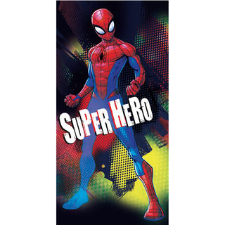 Dětská osuška SPIDERMAN Hero 70 x 140 cm