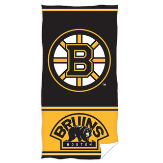 Osuška BOSTON Bruins 70 x 140 cm