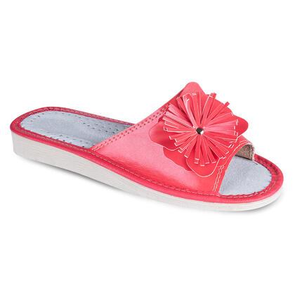 Dámské letní pantofle s ozdobou