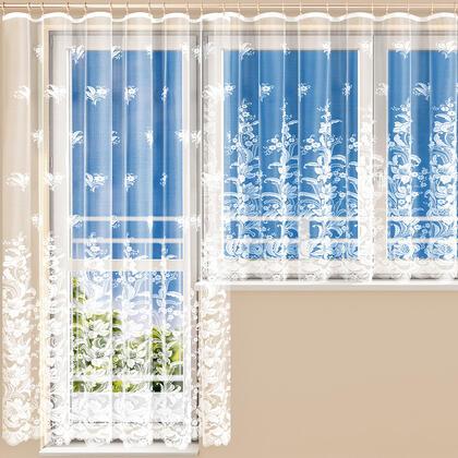 Hotová žakárová záclona JULIE - balkonový komplet