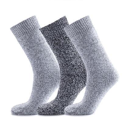 Pracovní ponožky s ovčí vlnou, sada 3 párů