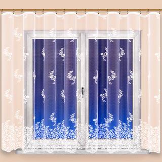 Hotová žakárová záclona CLAUDIE 350 x 160 cm