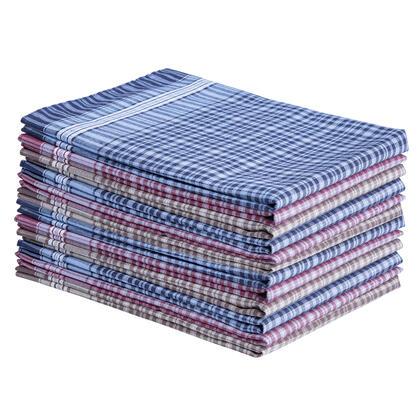 Bavlněné kapesníky 12 kusů
