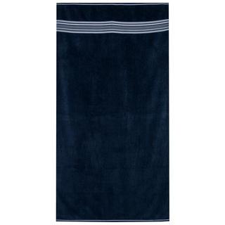 Plážová osuška DARK BLUE 90 x 170 cm