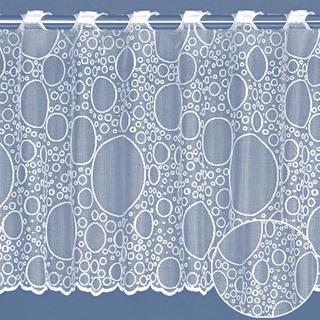 Vitrážková záclona Beth, výška 40 cm