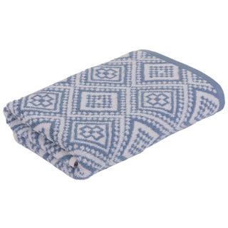 Froté ručník MARRAKECH Mosaik modrý 50 x 100 cm