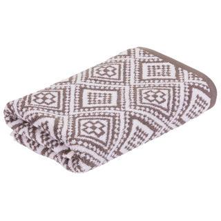 Froté ručník MARRAKECH Mosaik hnědý 50 x 100 cm