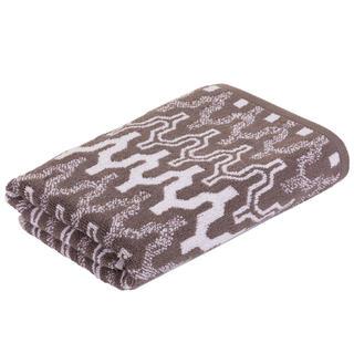 Froté ručník Marrakech CHEVRON hnědý