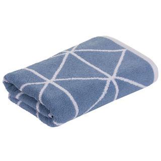 Froté ručník GRAPHICS Triangle modrý 50 x 100 cm