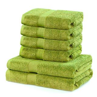 Sada froté ručníků a osušek MARINA kiwi 6 ks