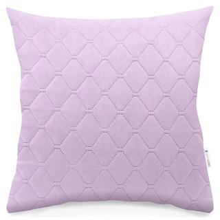 Prošívaný povlak na polštářek Axel růžový