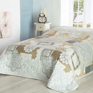 Přehoz na postel LACE béžový