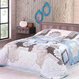 Přehoz na postel LACE tyrkysový