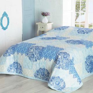 Přehoz na postel OTTORINO tyrkysová