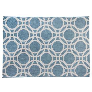 Kusový koberec ADRIA modrá