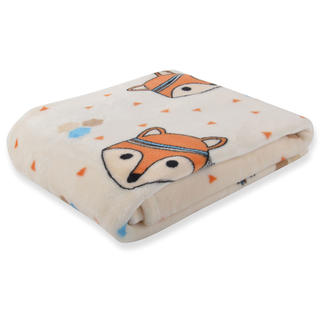 Dětská deka CARTOON PETS Lištička 80 x 110 cm