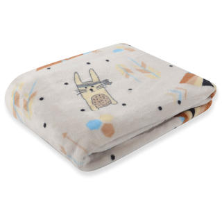 Dětská deka CARTOON PETS zajíček 80 x 110 cm
