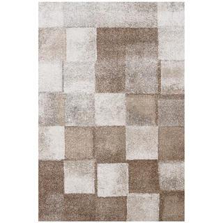 Kusový koberec MONDO Kostka hnědá