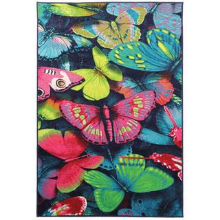 Kusový koberec PLAY Barevný motýl
