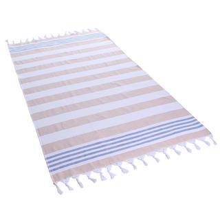 Bavlněná osuška SANTORINI písková 90 x 170 cm