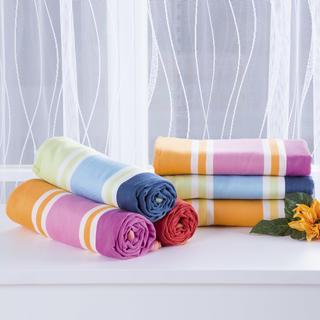 Pestrobarevné utěrky z egyptské bavlny 50 x 70 cm 6 ks