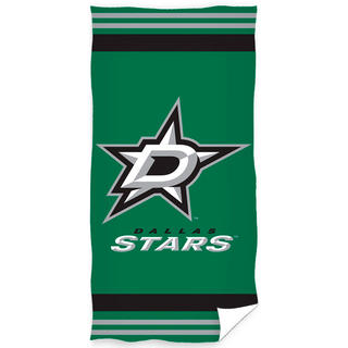 Osuška NHL Dallas Stars 70 x 140 cm