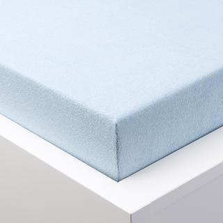 Napínací prostěradlo froté GRAND ledově modré, dvojlůžko
