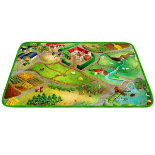 Dětský kusový koberec FARMA ultrasoft 100 x 150 cm