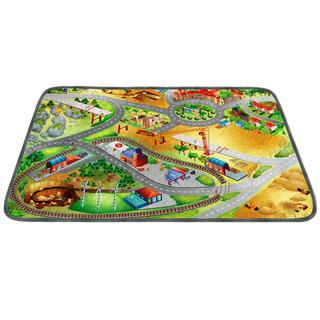 Dětský kusový koberec STAVBA ultrasoft 100 x 150 cm