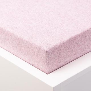 Napínací prostěradlo froté MELÍR pastelově světle růžové