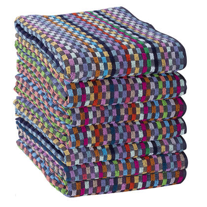 Sada pracovních ručníků KOSTKY 50 x 70 cm