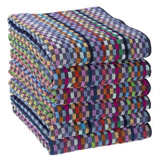 Sada pracovních ručníků KOSTKA 45 x 90 cm 6 ks
