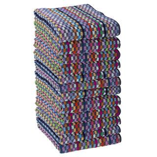Sada pracovních ručníků KOSTKA 50 x 90 cm 12 ks
