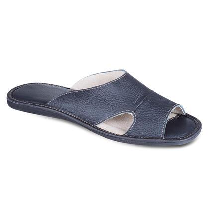 Klasické pánské pantofle černé
