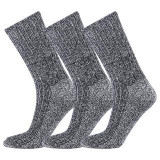 Praktické tmavé ponožky SIBIŘ 3 páry, vel. 44 - 45