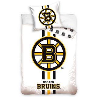 Bavlněné ložní povlečení NHL BOSTON BRUINS  White