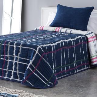 Přehoz přes postel MARA modrý