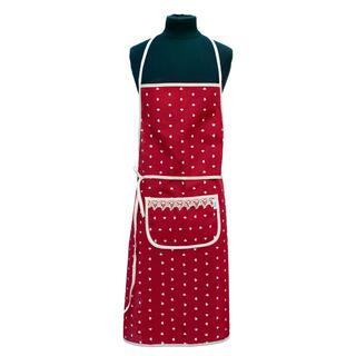 Kuchyňská zástěra TINKA červená