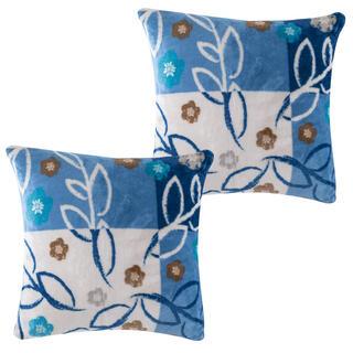 Sada povlaků na polštářky SARAH modré, 2 ks 40 x 40 cm