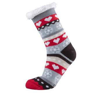 Ponožky na spaní SRDÍČKA