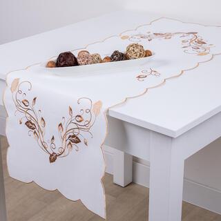Běhoun na stůl s výšivkou 40 x 110 cm